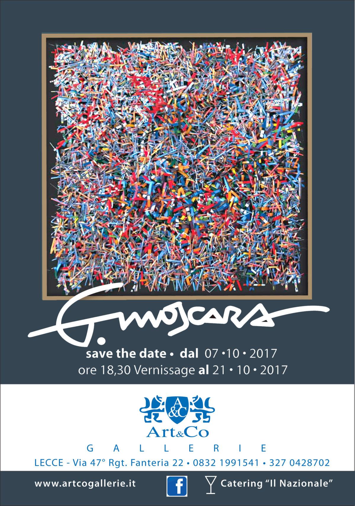 Mostra personale di Giancarlo Moscara alla Galleria Art & Co a Lecce