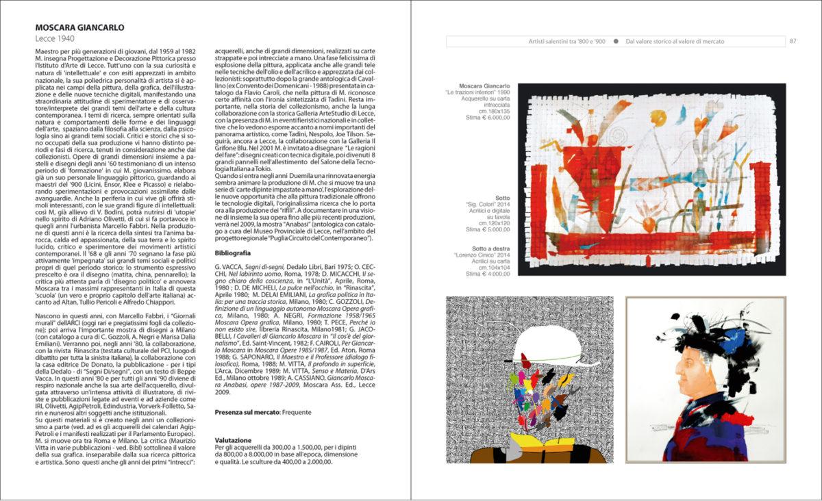 Giancarlo Moscara, Piccole note da una biografia artistica